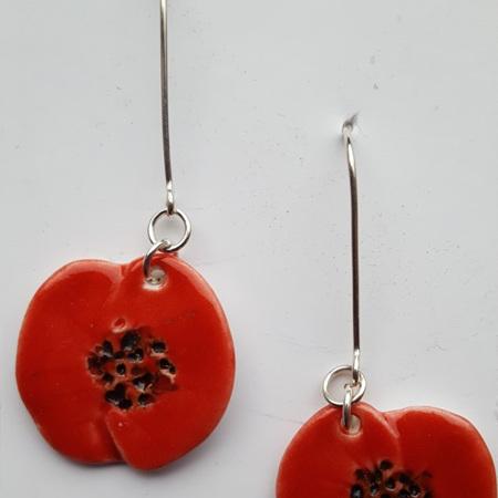 Earrings - Poppy