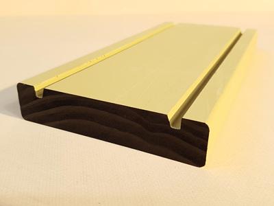 Earthen Radiata Exterior Fascia Board 135x29mm