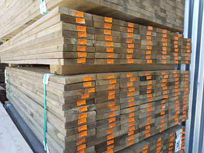 Earthen Radiata Exterior H4 Rough Sawn 150x25mm - 1.8m lengths