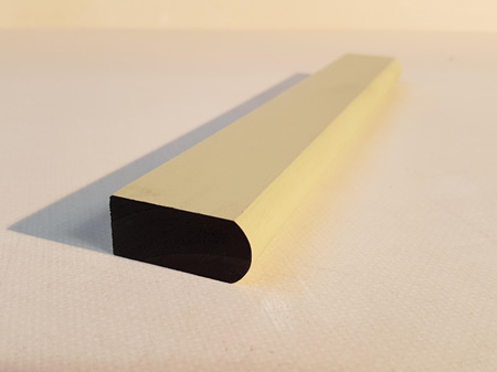Earthen Radiata Exterior Pre-Primed Bullnose Scriber 40x18mm