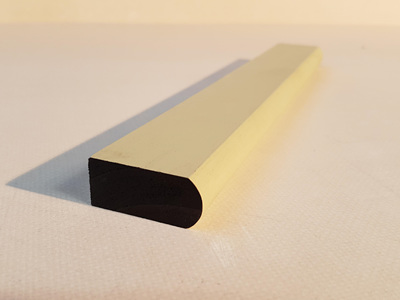 Earthen Radiata Exterior Pre-Primed Bullnose Scriber 40x18mm