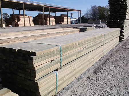 Earthen Radiata Exterior SG6 H4 90x45mm - 4.8m lengths