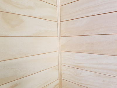 Earthen Radiata Interior Panelling 85x9mm reversible profile