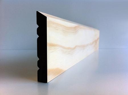 Earthen Radiata Interior Single Bevel Architrave 60 x 10mm