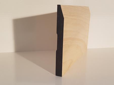 Earthen Radiata Interior Single Bevel Skirting 180x18mm