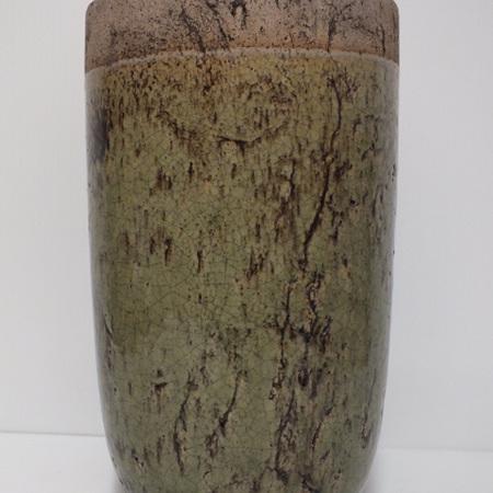 Earthern vase small C3931