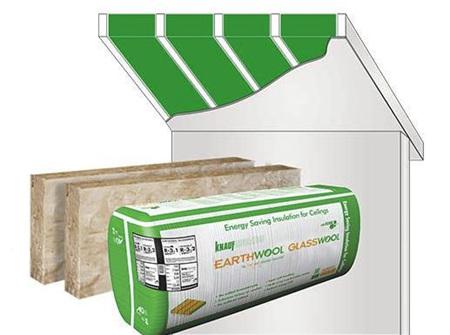 Earthwool® Glasswool R3.2 SKILLION - 5.48m2