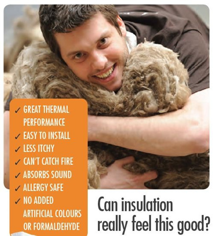 Earthwool insulation, ceiling insulation, earthwool, natural insulation