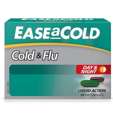 EASEaCOLD COLD & FLU DAY & NIGHT