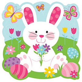 Easter Bunny cutout