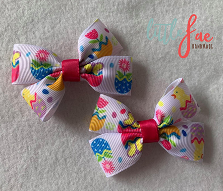 Easter Egg Hair Bows