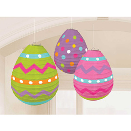 Easter Eggs lanterns - 3pack.