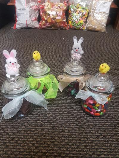 Easter lollie jars x 1