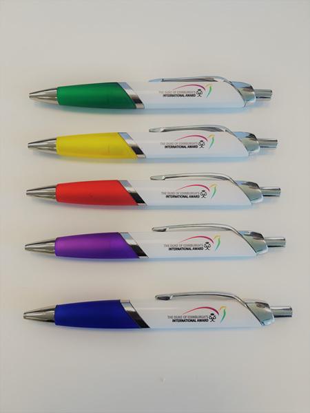 Easy grip pens