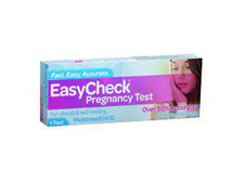 EASYCHECK Pregnancy Test 1pk Blue