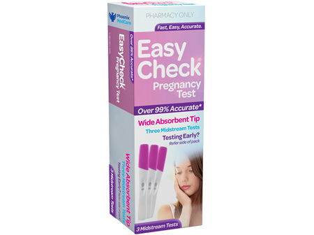 EasyCheck Pregnancy Test 3 Pack