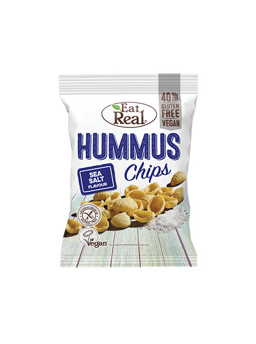 Eat Real Hummus Chips Sea Salt 45g