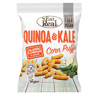 Eat Real Quinoa Kale Puff Jalapeno and Cheddar