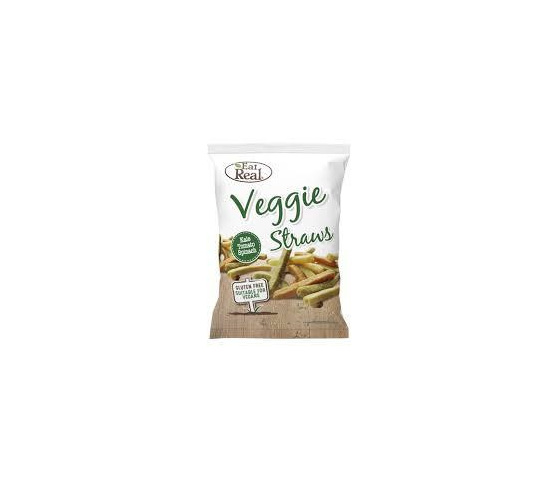 Eat Real Veggie Straws. Kale tomato and spinach.