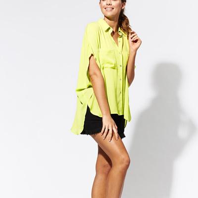 Eb & Ive - El Pocito Shirt - Citrus