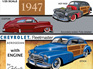 Galaxie 1/25 1947 Chevrolet Country Club Aerosedan