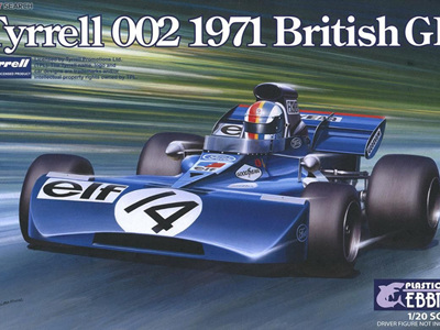 Ebbro 1/20 Tyrrell 002 British GP 1971