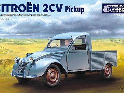 Ebbro 1/24 Citroen 2CV Pickup
