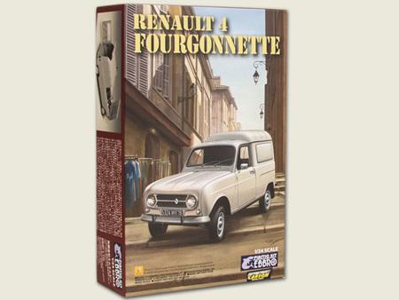 Ebbro 1/24 Renault 4 Fourgonnette