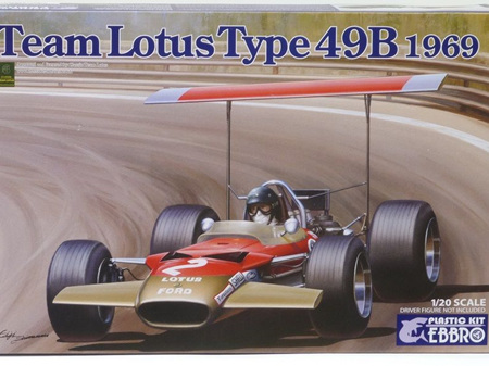 Ebbro 1/20 Lotus Type 49B 1969