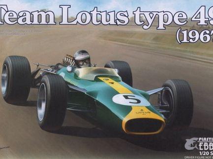Ebbro 1/20 Team Lotus Type 49 (1967)