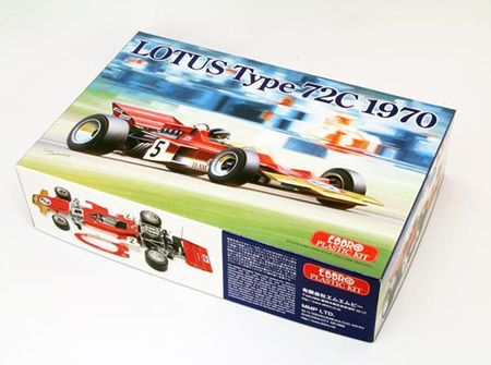 Ebbro 1/20 Team Lotus type 72C (1970) (EBB001)