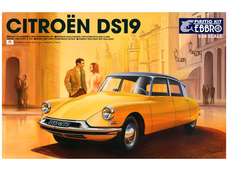 Ebbro 1/24 Citroen DS19