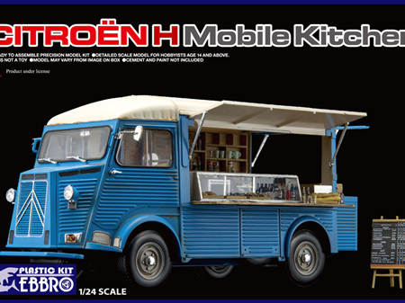 Ebbro 1/24 Citroen H Mobile Kitchen