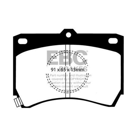 EBC Ultimax Front Brake Pads DP655