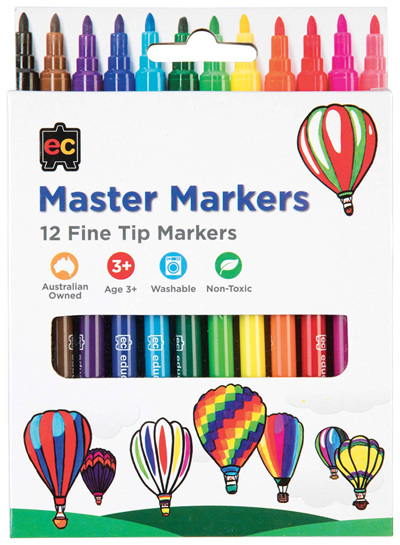 EC Master Markers - 12 Pack