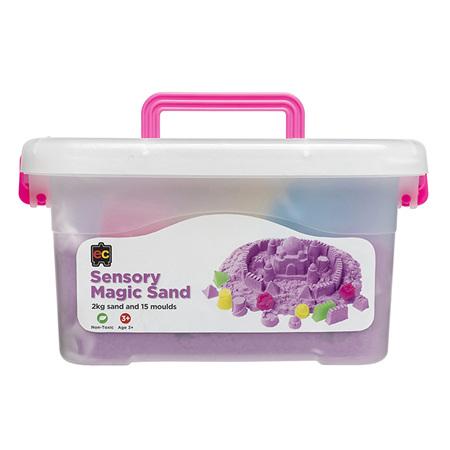 EC Sensory Magic Sand 2kg + Moulds
