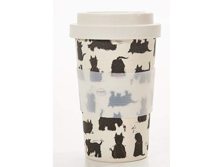 ECO CHIC Bamboo Cup Scatty Scotty