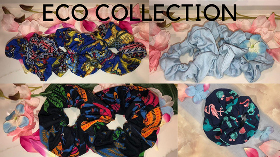 Eco Friendly Scrunchies
