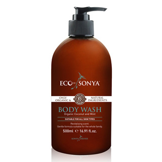 Eco tan Certified Organic Body Wash 500ml