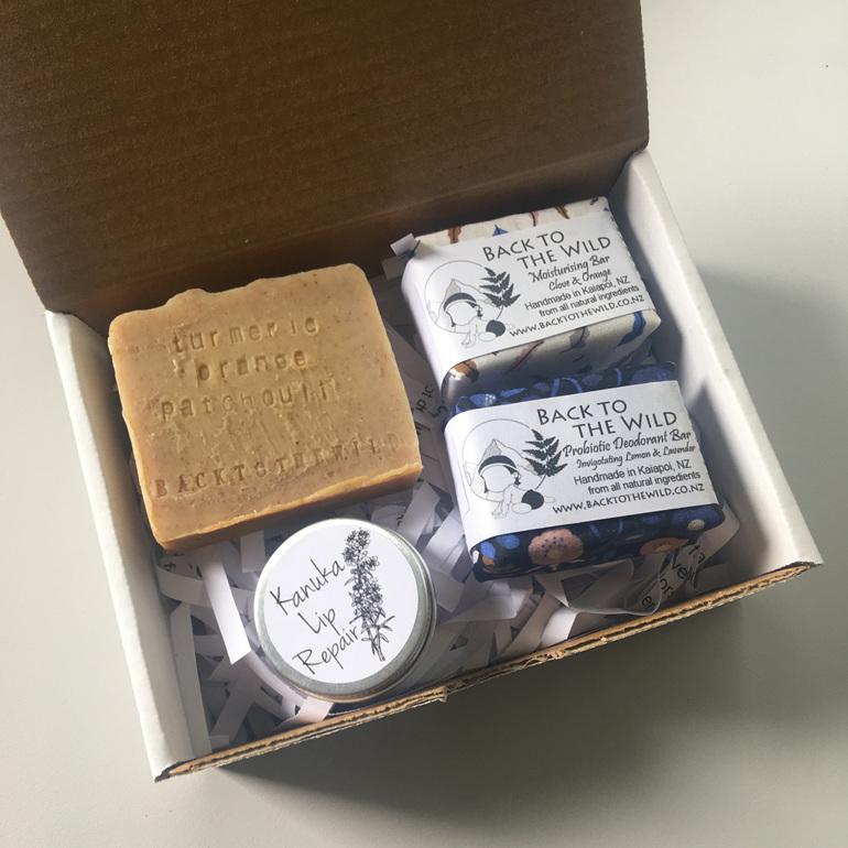 eco zero waste gift box organic natural