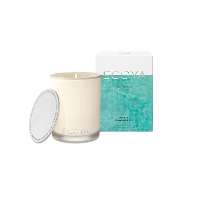 Ecoya Candle Coastal Kowhai & Fig Madison Jar