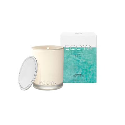 Ecoya Candle Coastal Kowhai & Fig Madison Jar