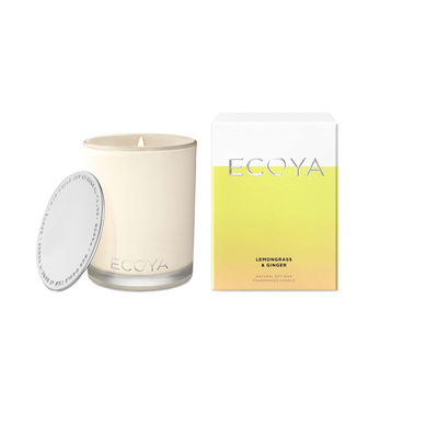 Ecoya Candle Lemongrass & Ginger Madison Jar