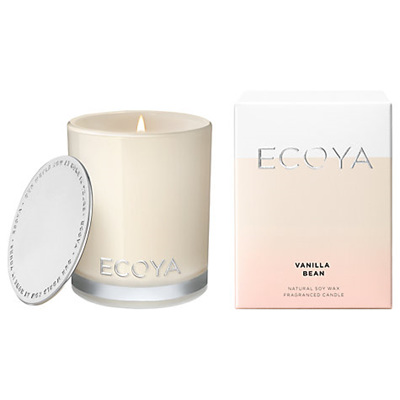 Ecoya Candle Vanilla Bean Madison Jar