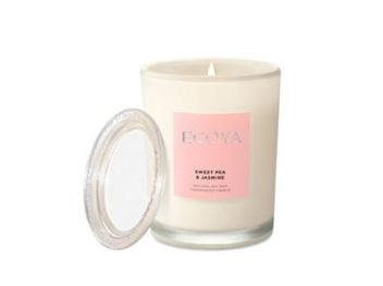 Ecoya Collection.Sweet Pea & Jasmine Candle 80g
