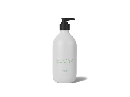 Ecoya Collection.French Pear HAND & BODY LOTION  450mL/15.2FL.OZ.US