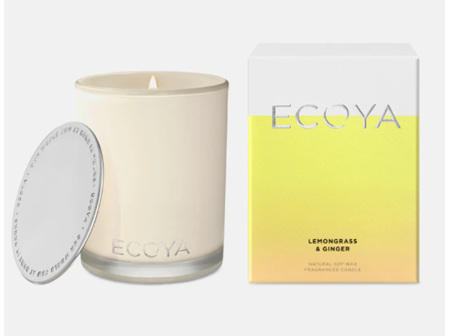 Ecoya Collection.Lemongrass & Ginger Candle 400g/14.1oz
