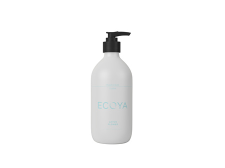 Ecoya Collection.Lotus Flower HAND & BODY LOTION  450mL/15.2FL.OZ.US