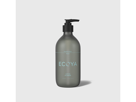 Ecoya Collection.Lotus Flower HAND & BODY WASH 450mL/15.2FL.OZ.US