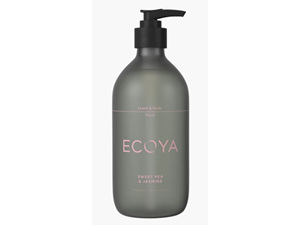 Ecoya Collection.Sweet Pea & Jasmine HAND & BODY WASH 450mL/15.2FL.OZ.US